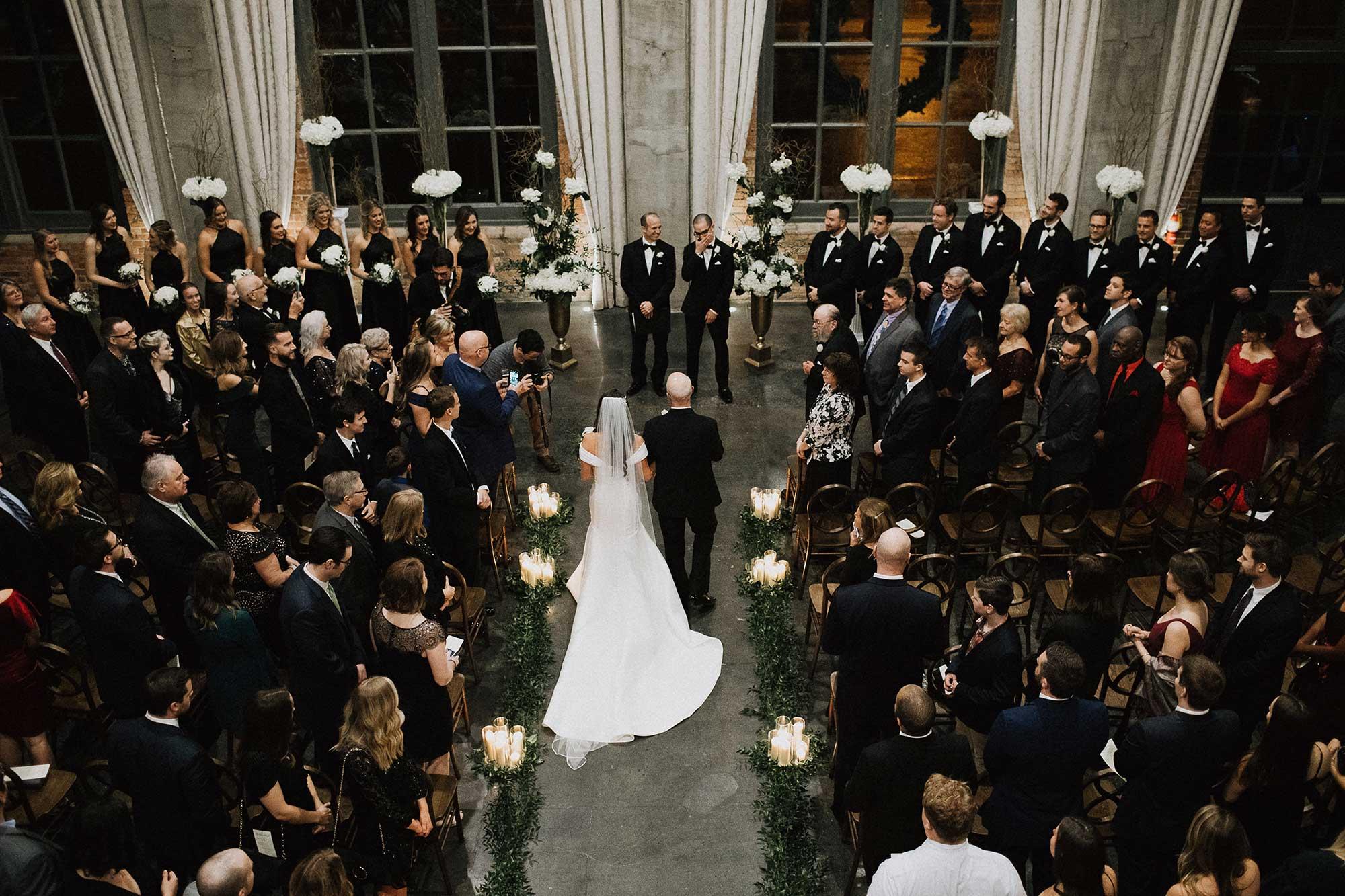 Steam Plant Dayton Wedding Ceremony