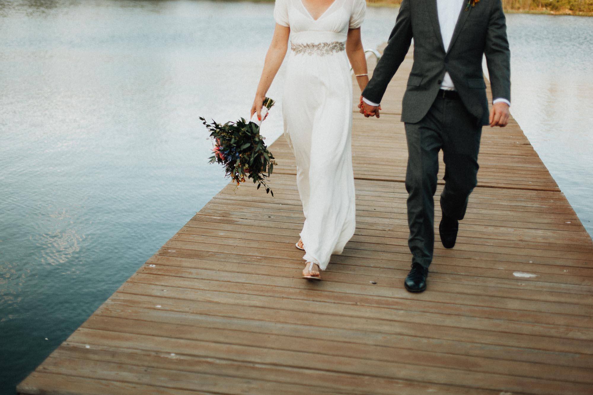 Backyard DIY Wedding in Columbus Ohio