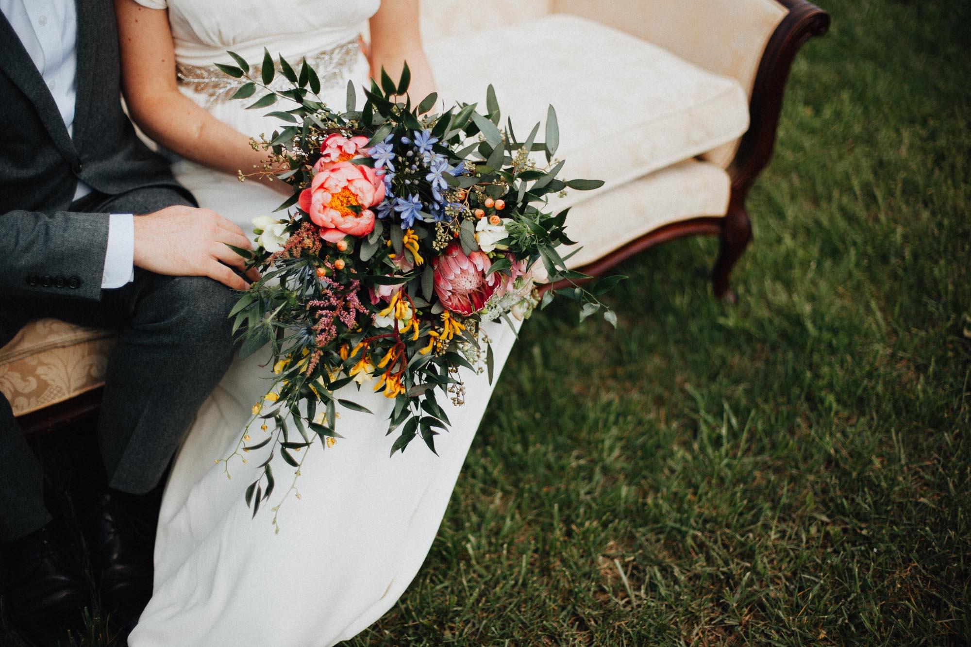 The Flowerman Backyard Wedding Columbus Ohio