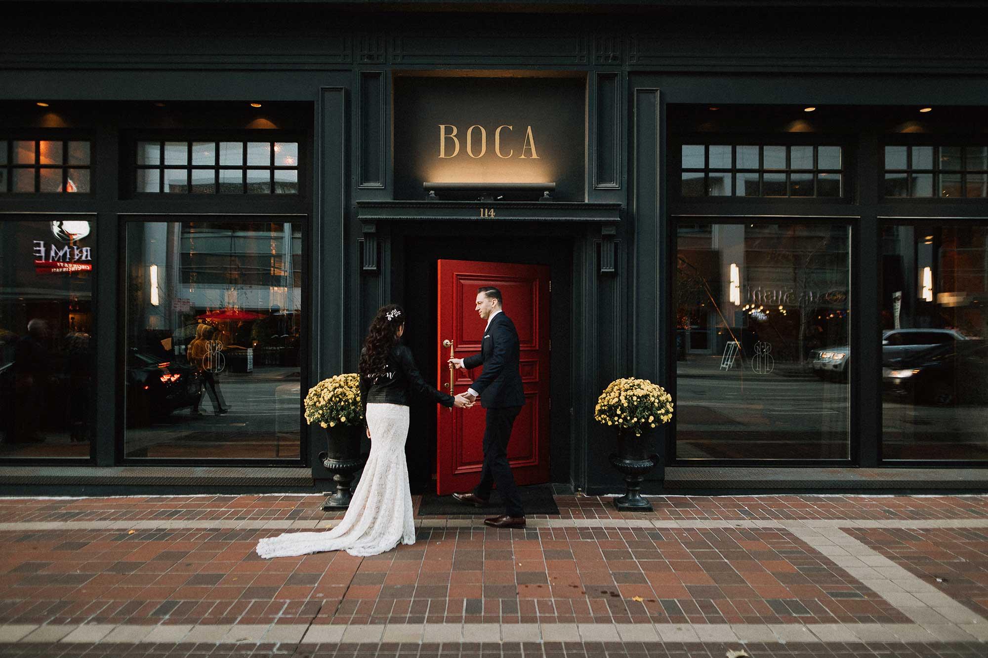 Cincinnati Wedding at Boca Restaurant