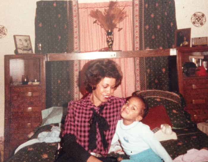 Little Norlisa and her Mom Jean