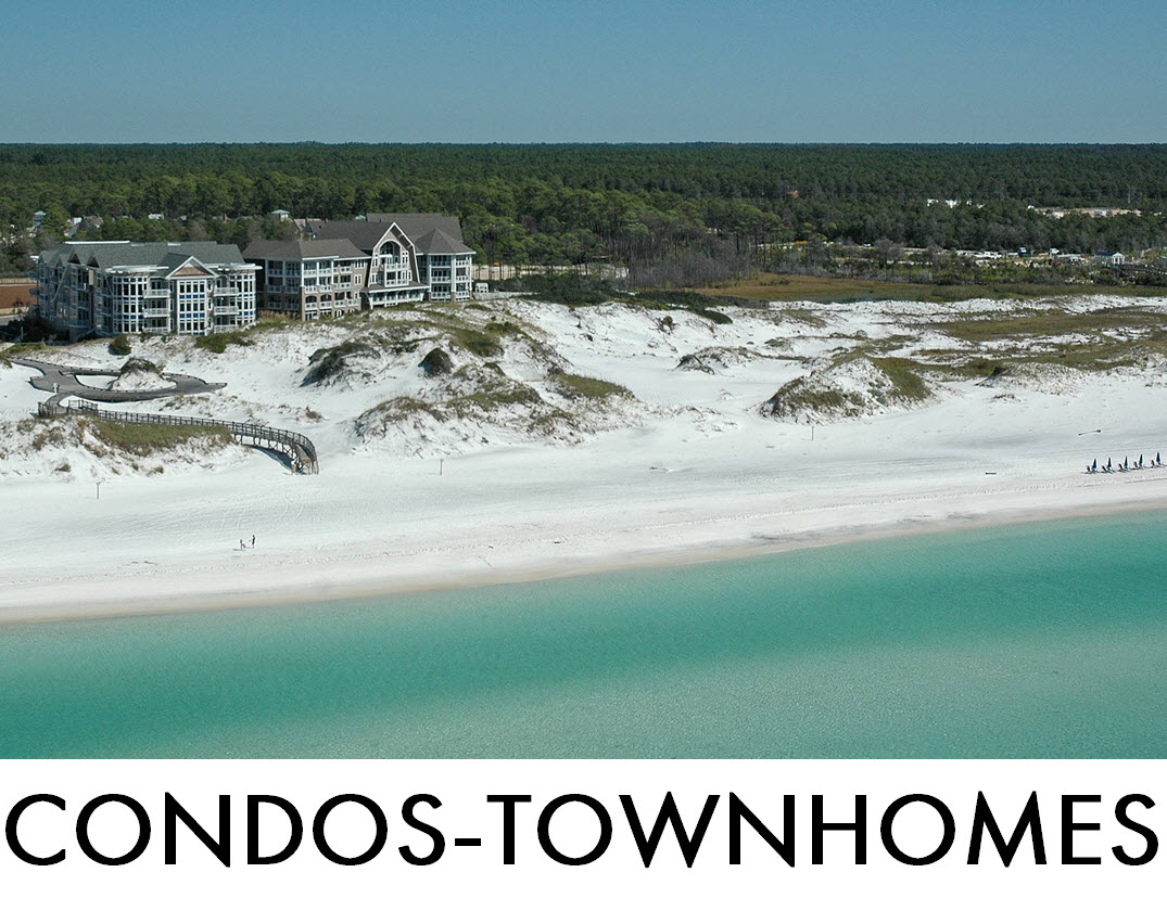 Search WaterSound Condos and Townhomes