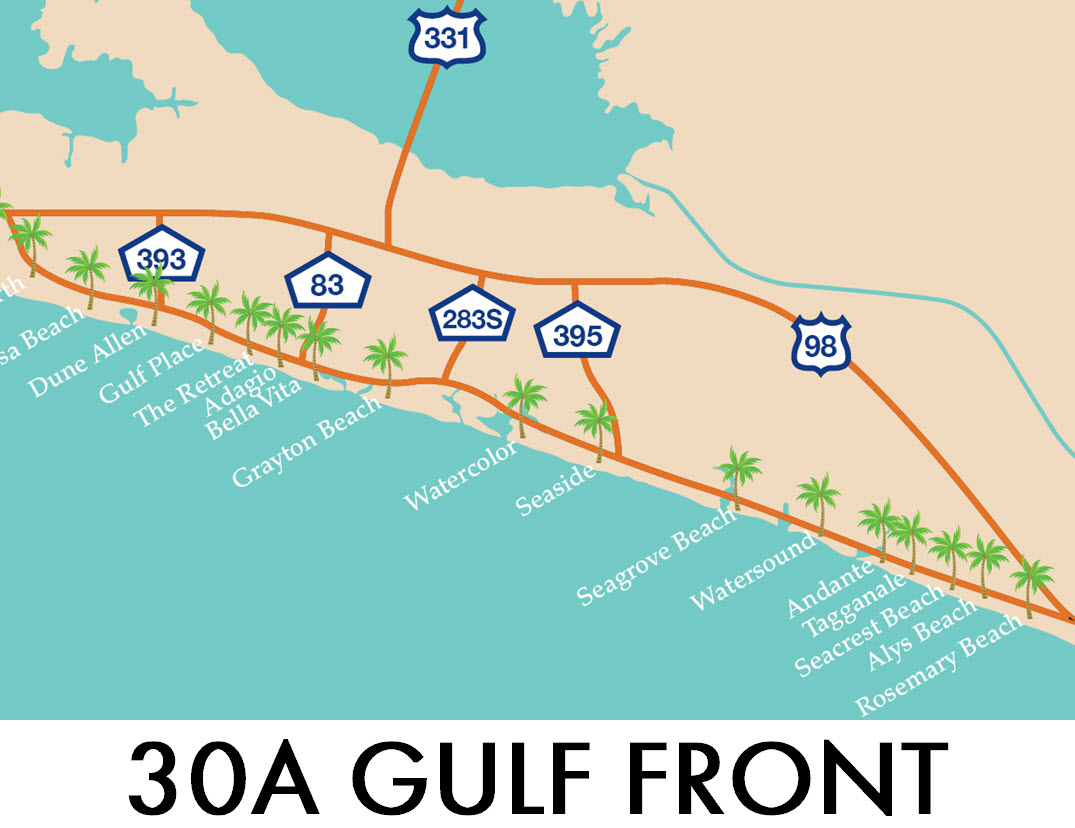 Search 30A Gulf Front Homes