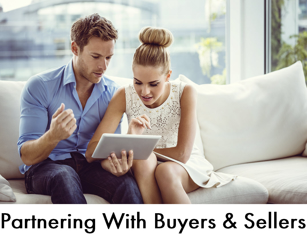 We partner with Buyers and Sellers