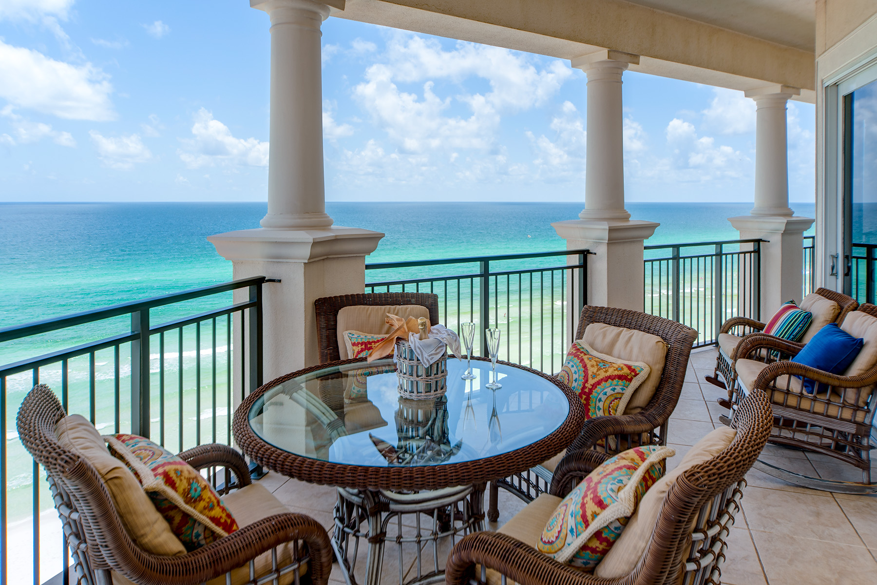 Sweeping Views From Gulf Front Balconoy