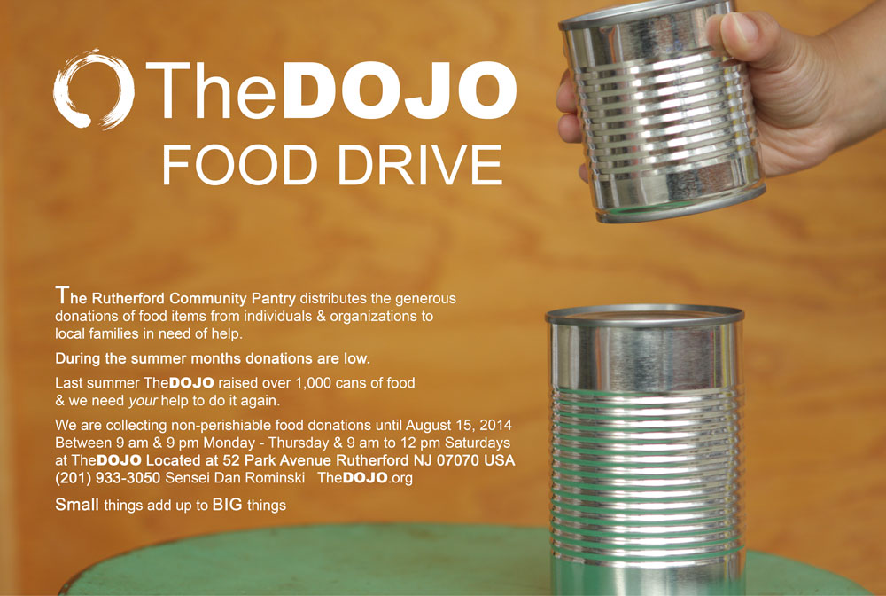 TheDOJO Food Drive