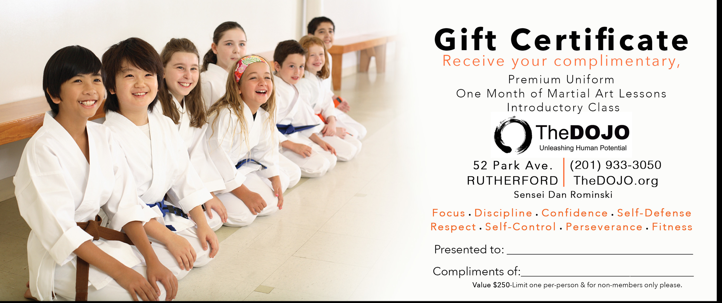 Download this gift certificate for a free month of lessons -  limit one per person & for new & non-members only please Click HERE