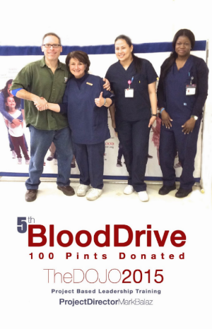 TheDOJO Blood Drive Rutherford NJ Sensei Dan Rominski Martial arts