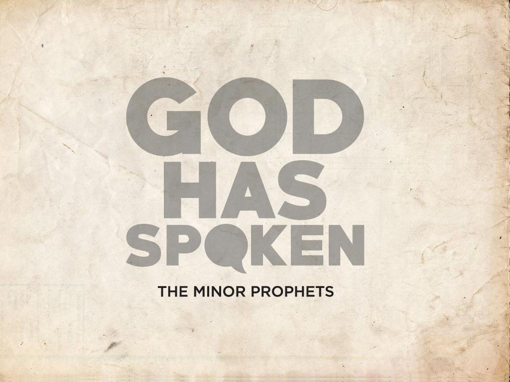 God has spoken - View series
