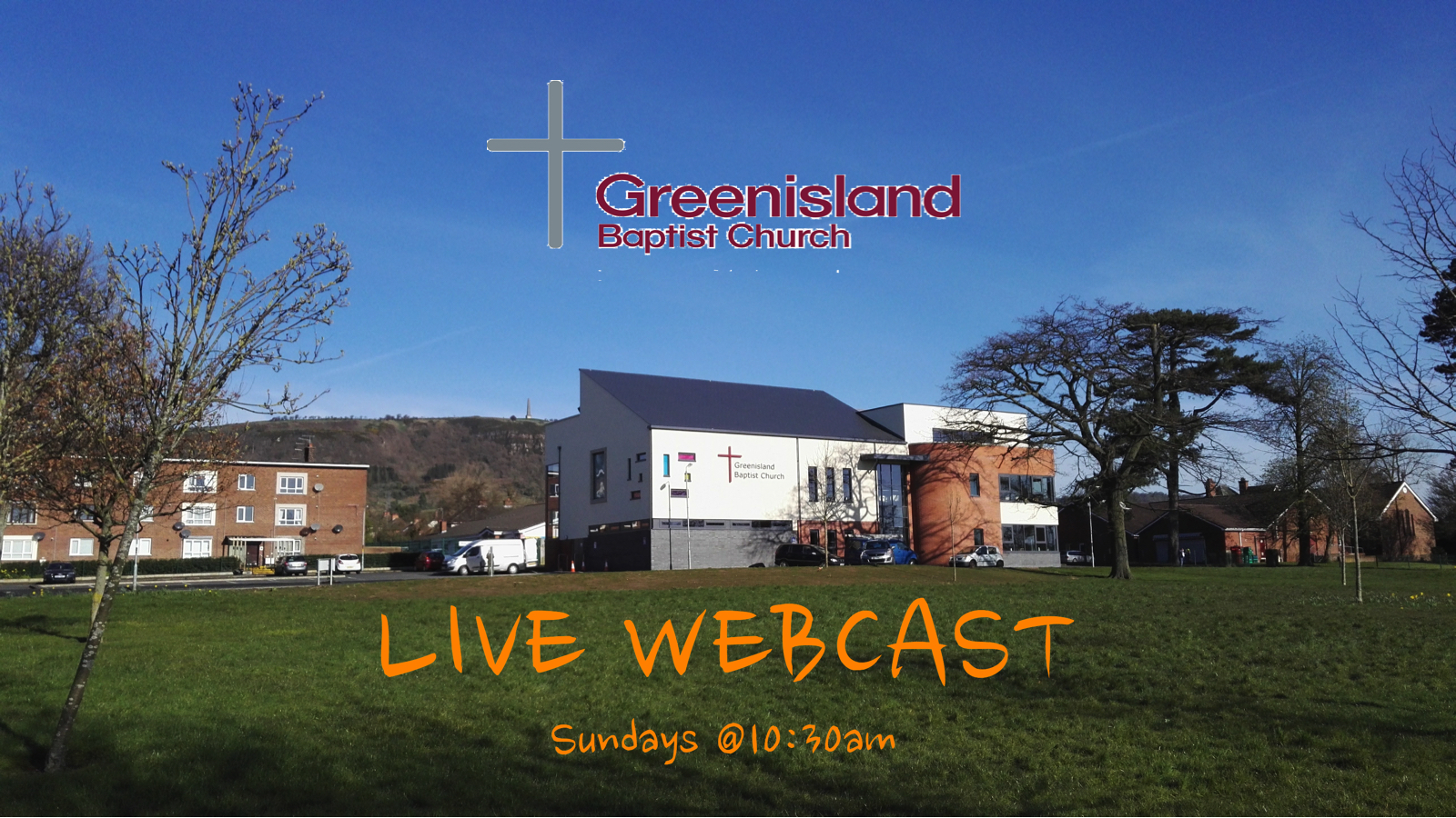LIVE Sunday Morning Services available at 10:30am each Sunday. For recorded past services use the Series link below