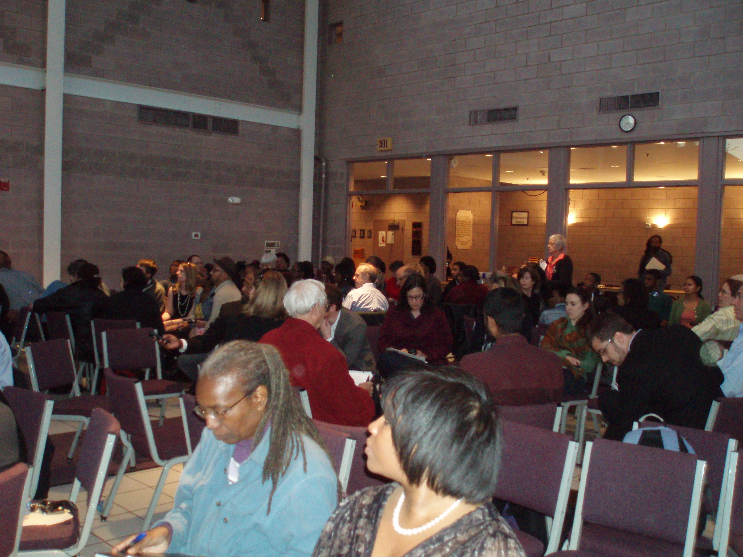 Community meeting 2012 - Fork in the Road: Parents and Community Concerned about the Future of DCPS.