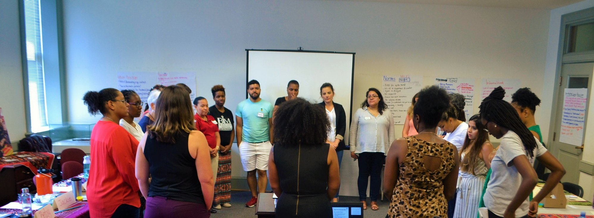 2019 Tellin' Stories Race, Equity, and Family Engagement Summer Institute for Teachers and Staff