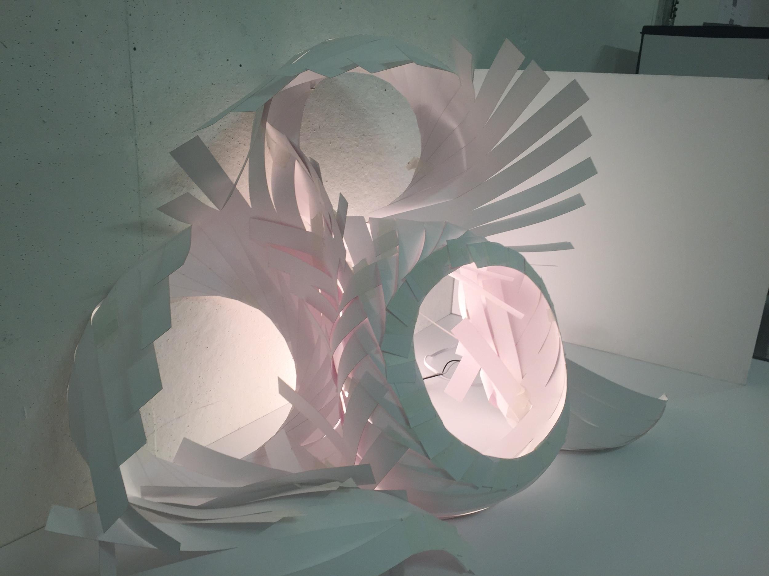 prototype made of bristol paper