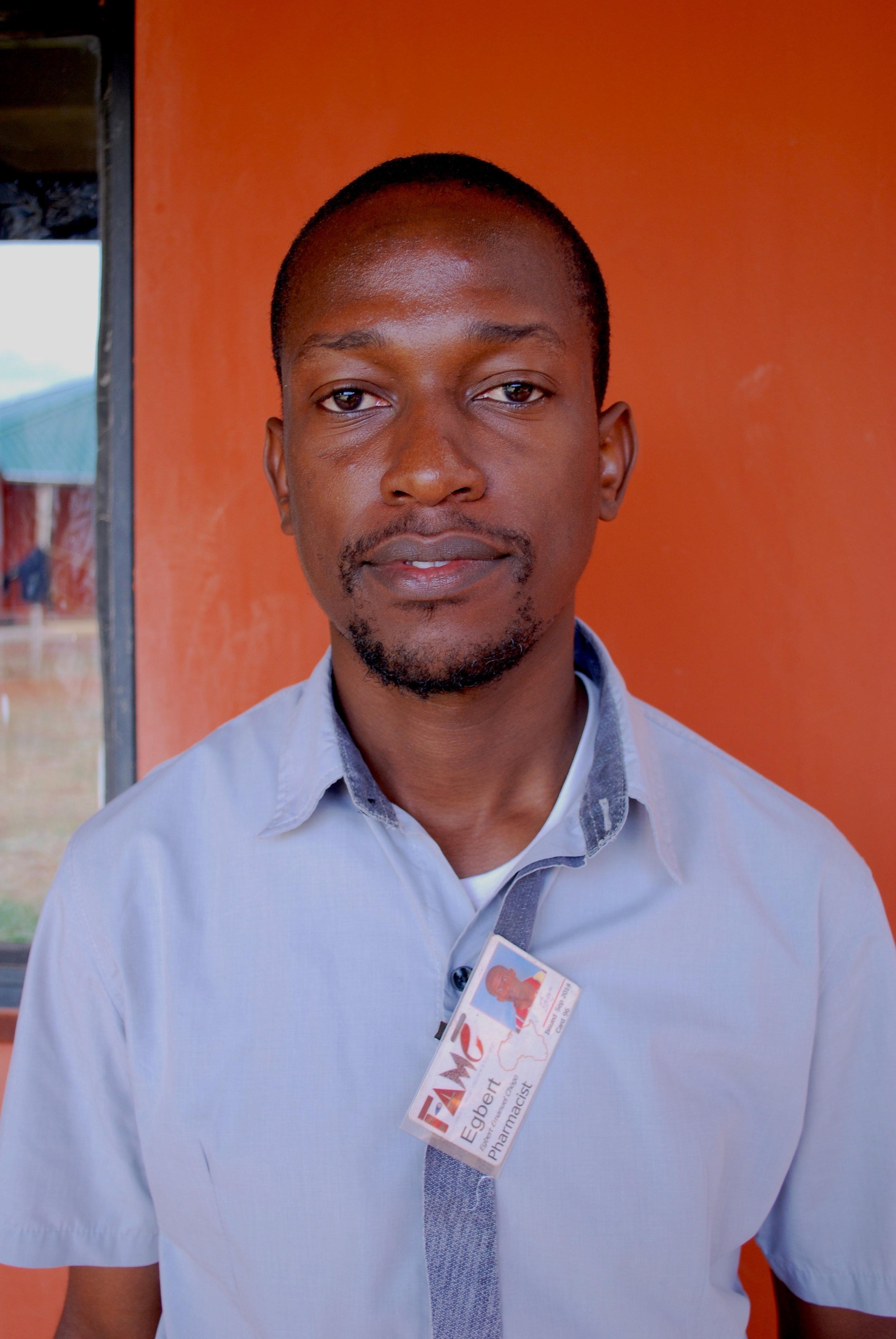 Egbert Chogo  Head Pharmacist