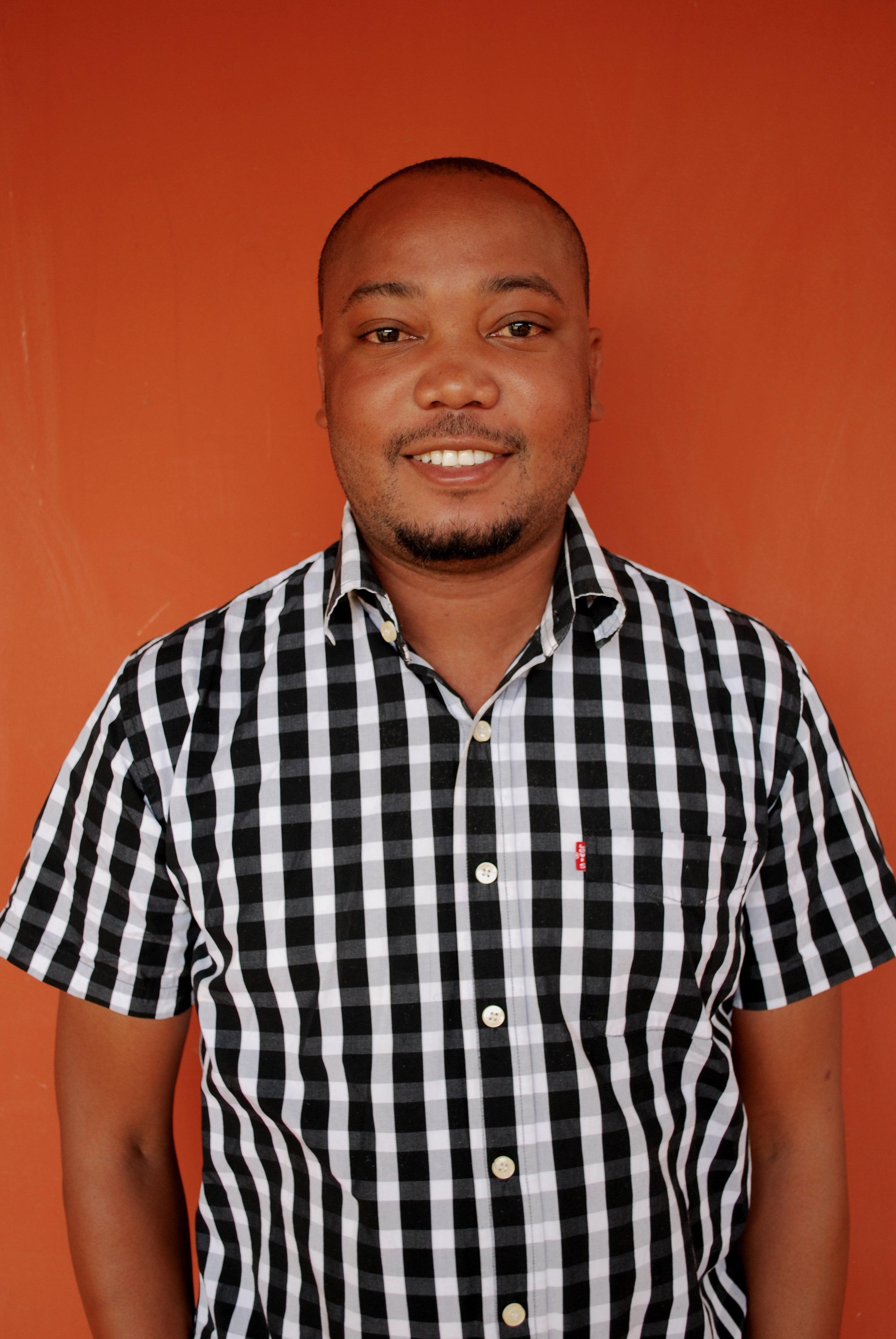 Emanuel Tarimo  Head Cashier