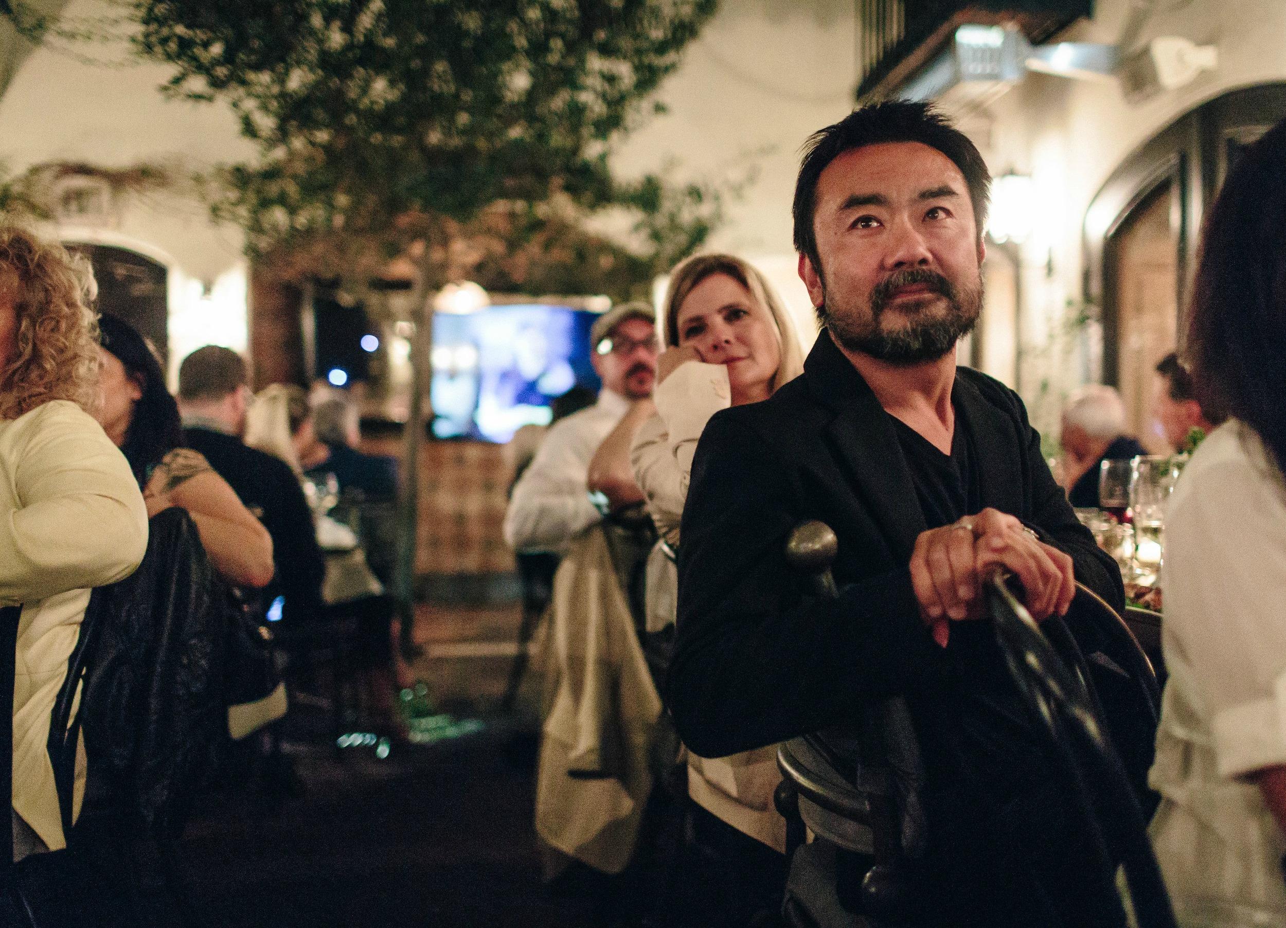 Takashi Yanai and Lizzie Dinkel