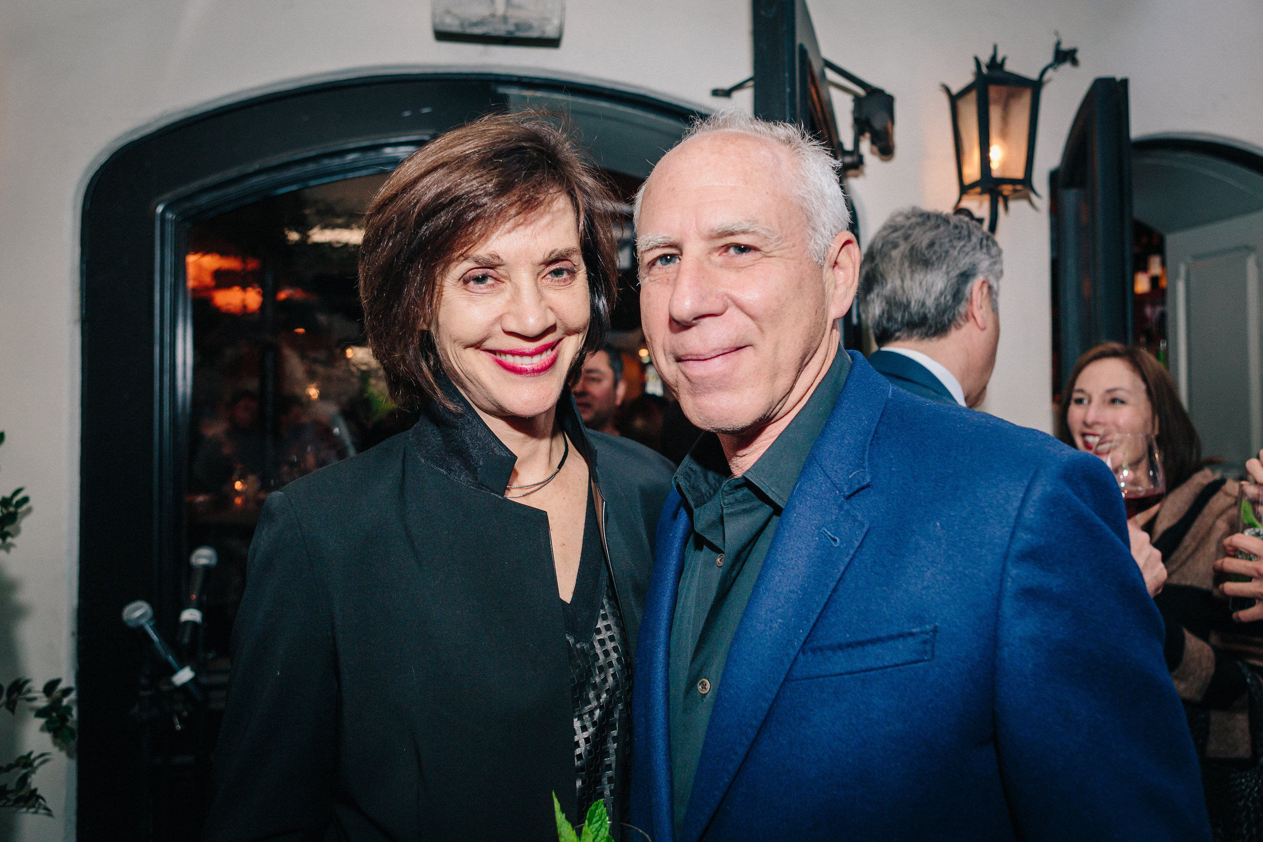 Nancy Griffin and Steven Ehrlich