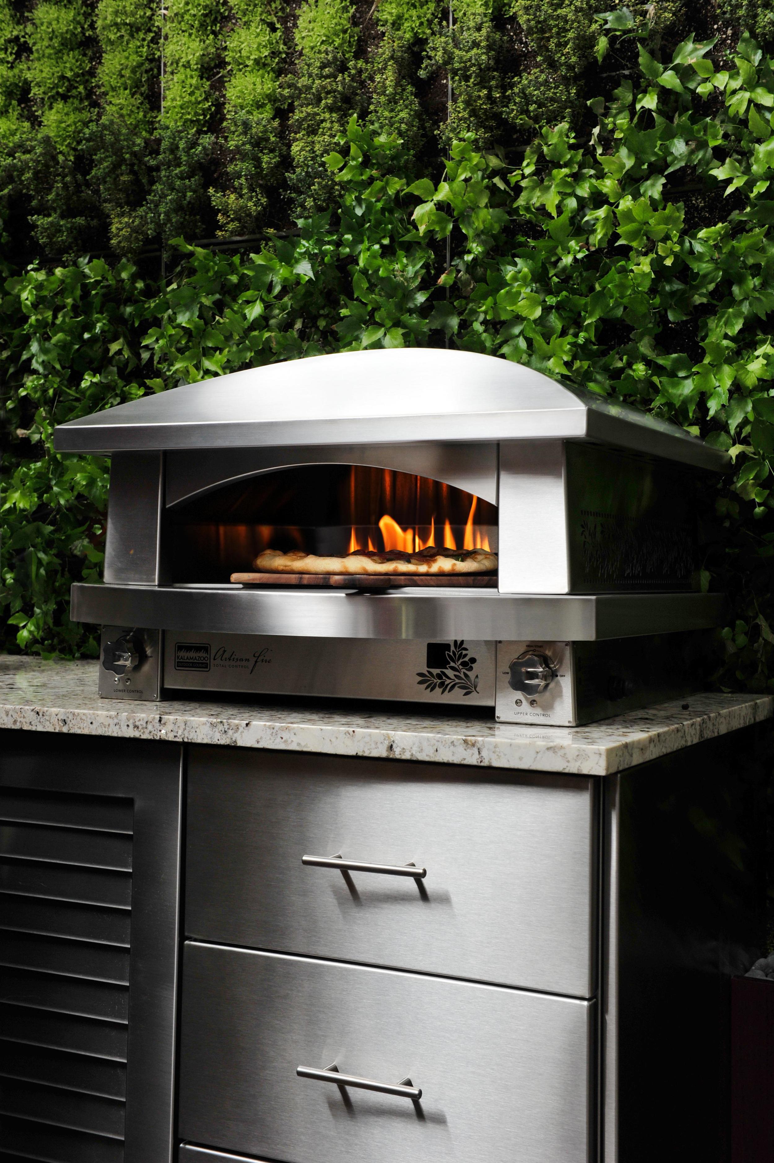 Kalamazoo's Artisan Fire pizza oven
