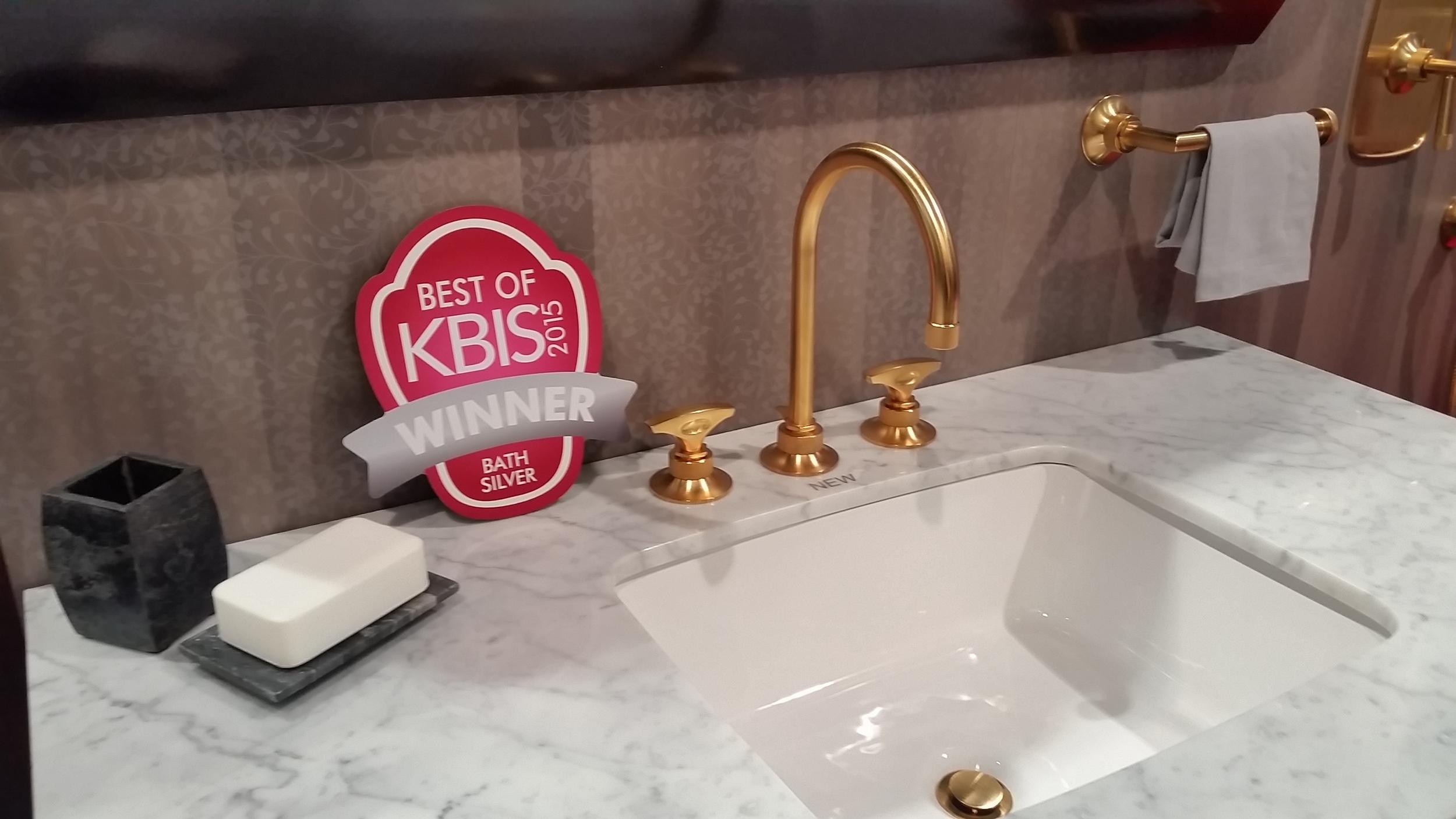 ROHL_KBIS 2015_Best of KBIS Bath Silver Award.jpg