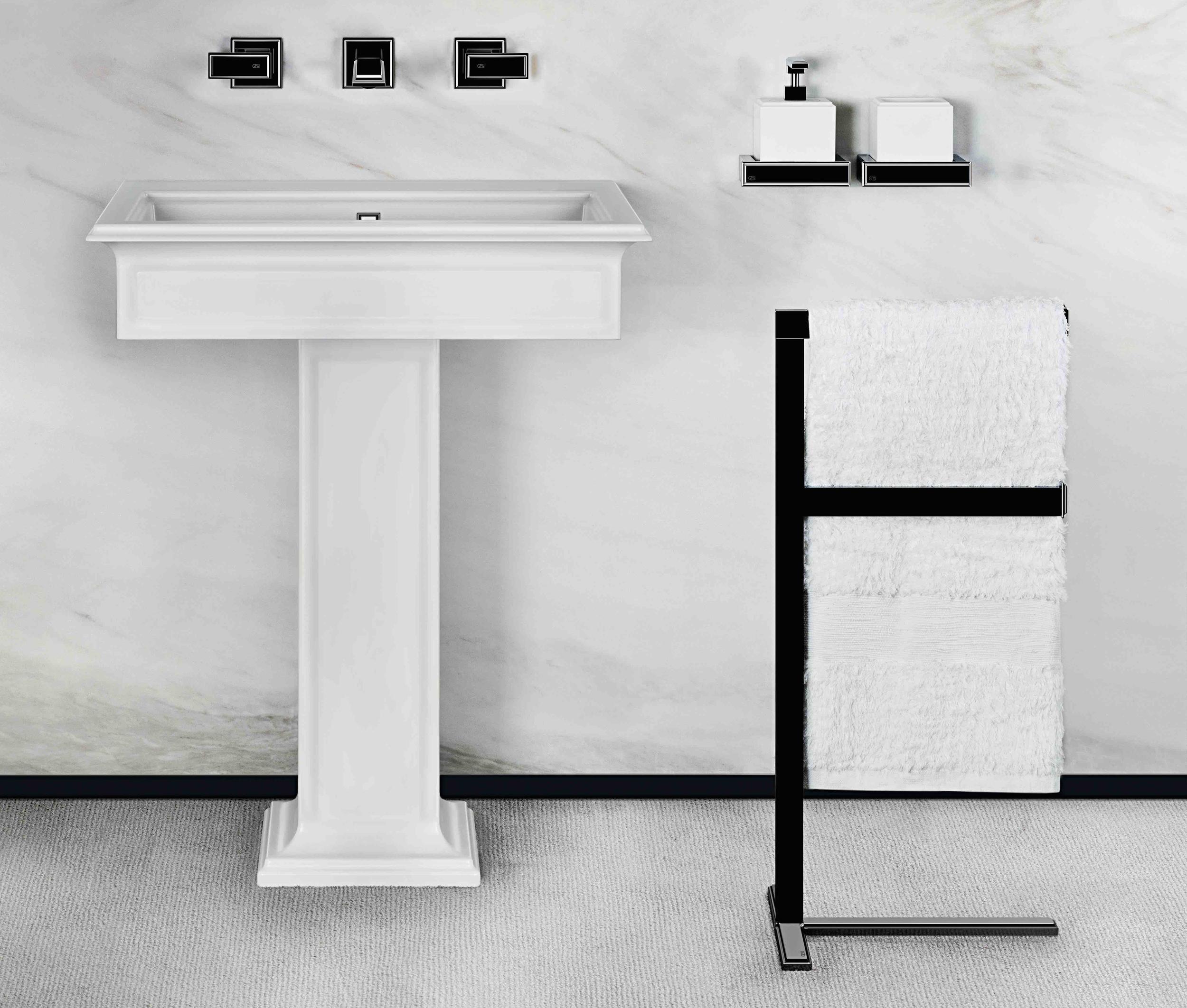 Fascino Gessi pedestal lav, towel bar and accessories.jpg