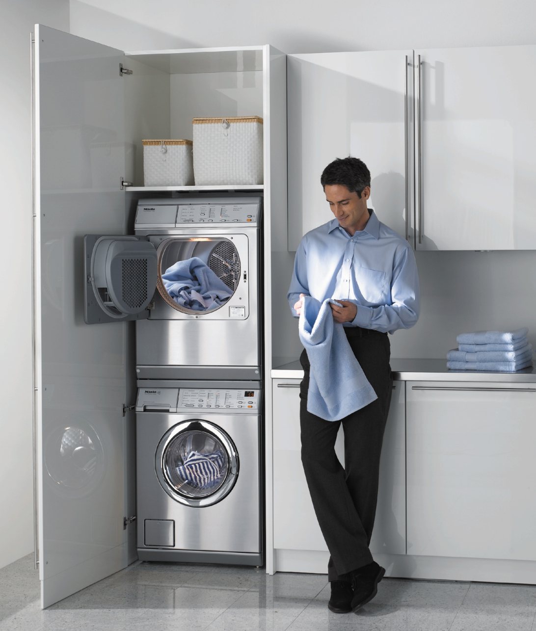 Stackable options from Miele.