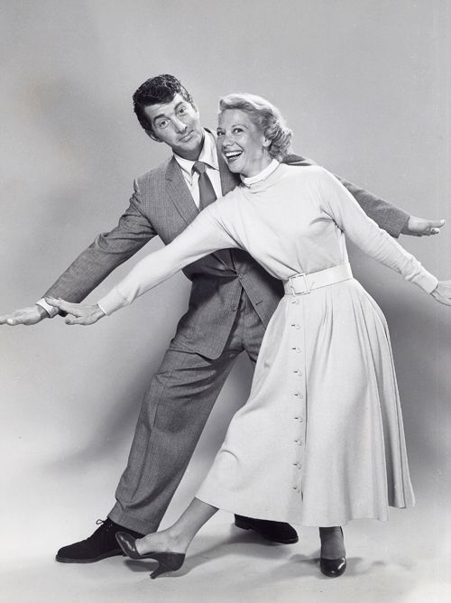 Dean Martin and Dinah Shore, 1956