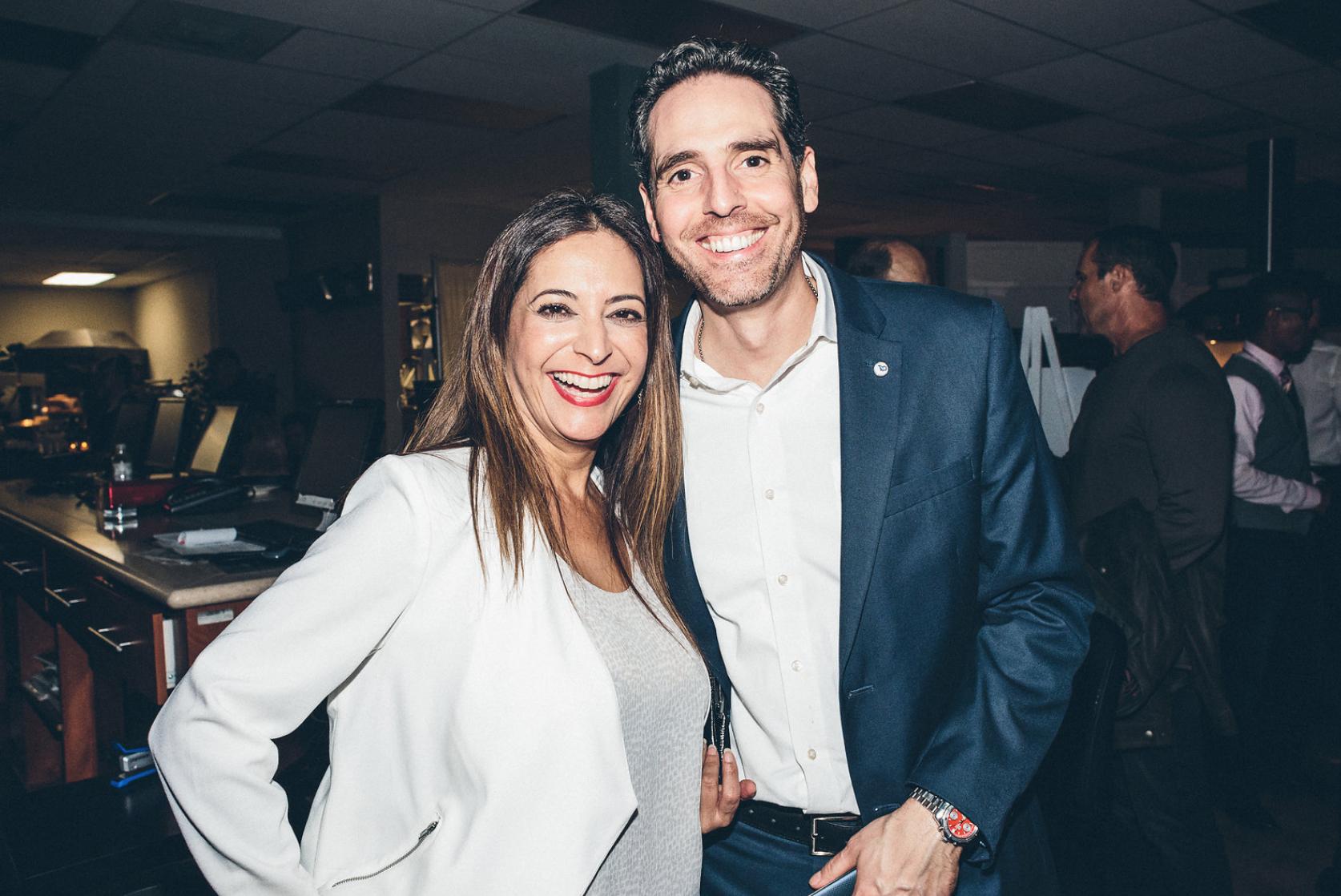 Lisa Guerrero and Dominic Mincieli.png
