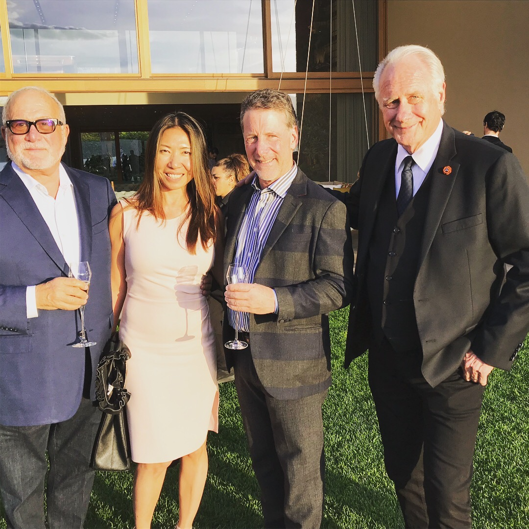 At the Gessi Lago Maggiore Party. Howard Weissman, Julia Wong, Russ Diamond, Larry Allen