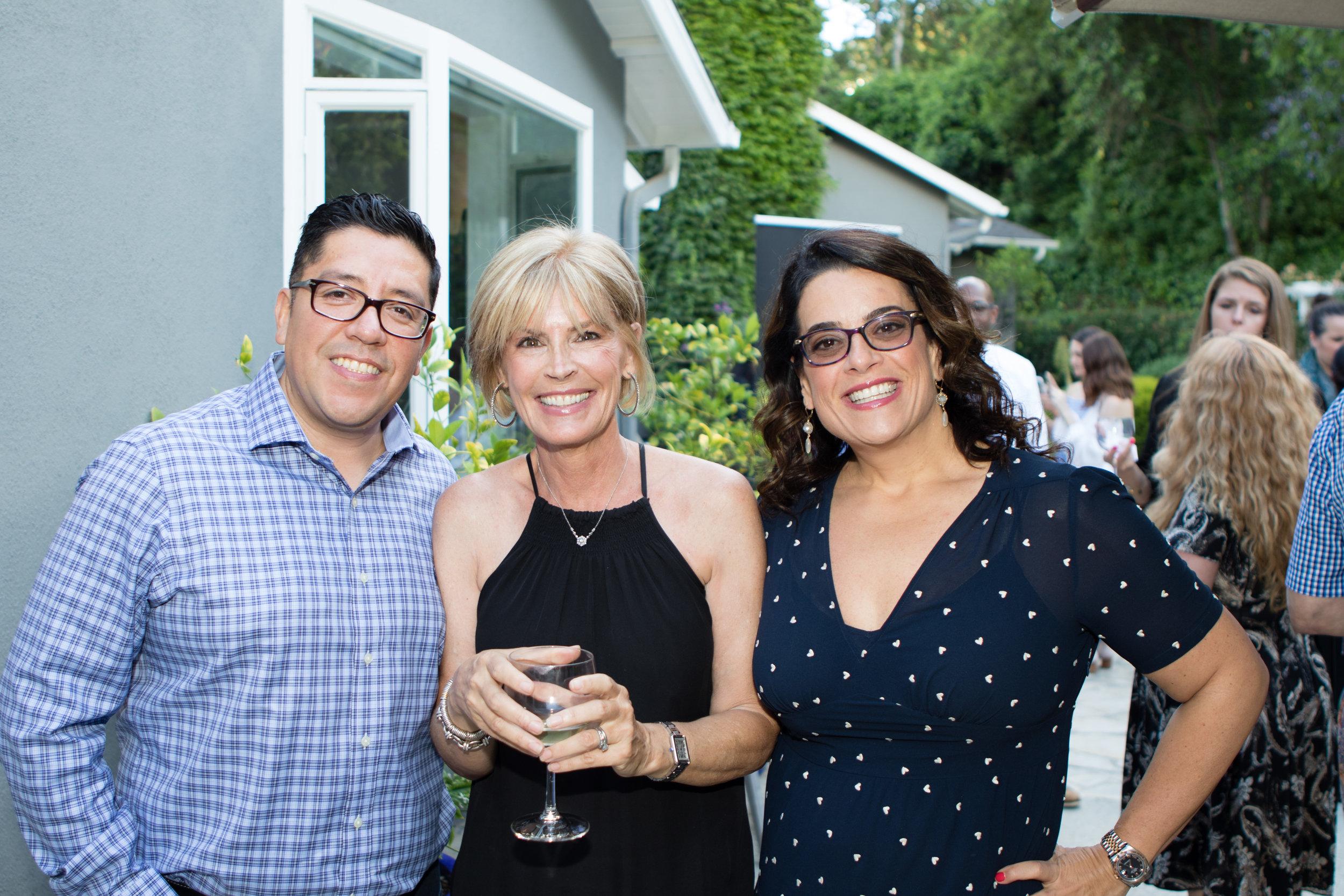 Felipe Lopez, Linda Grasso and Jess Weiner