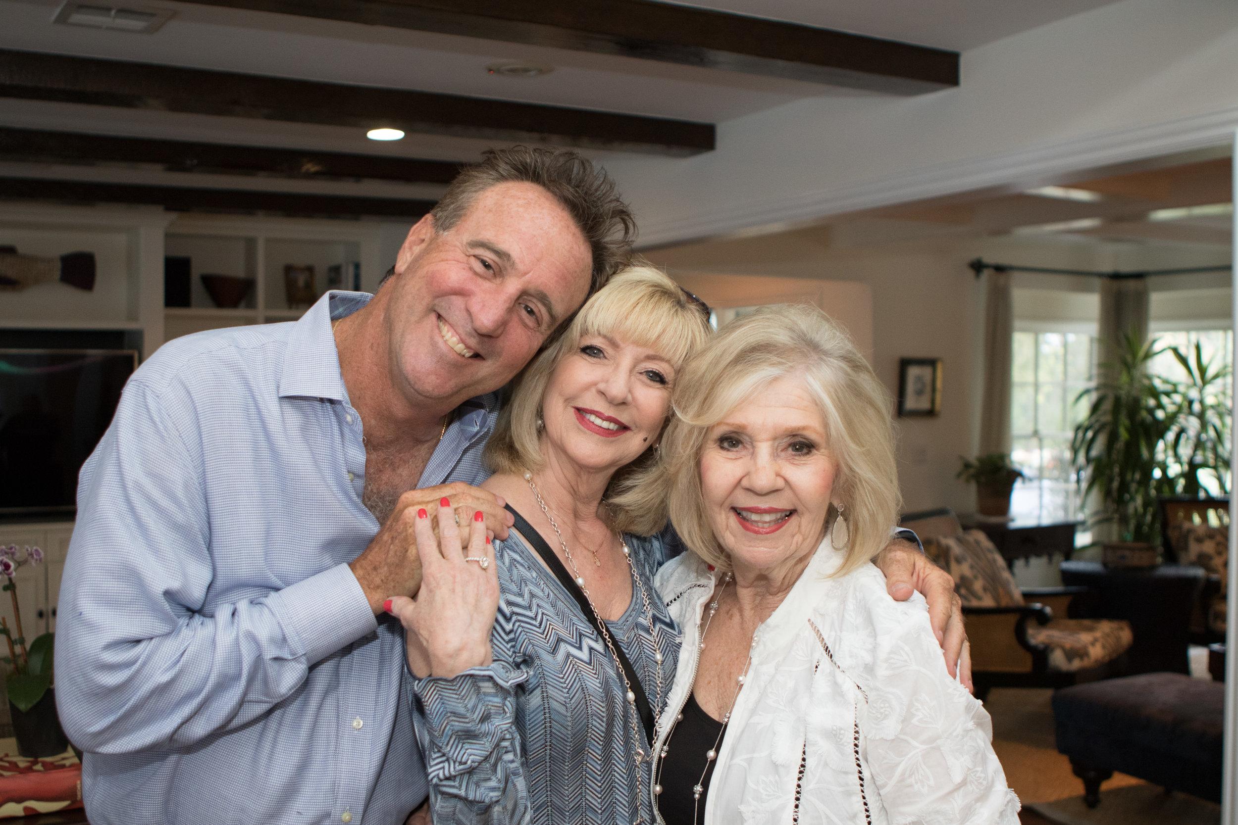 Matt Epstein, Francine Meyberg and Elaine Selko