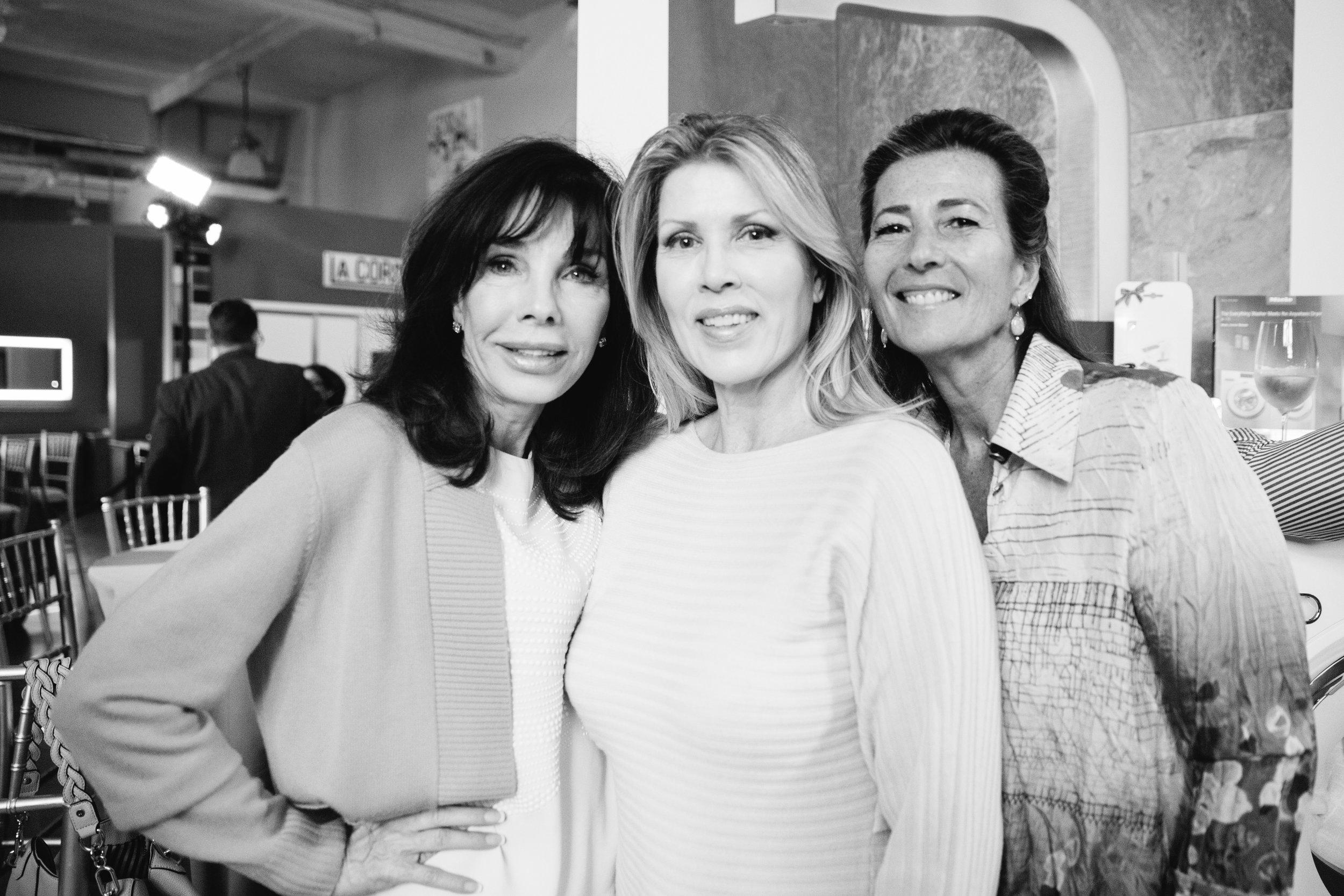 Donna Livingston, Wendy Williams, Liz Barbatelli