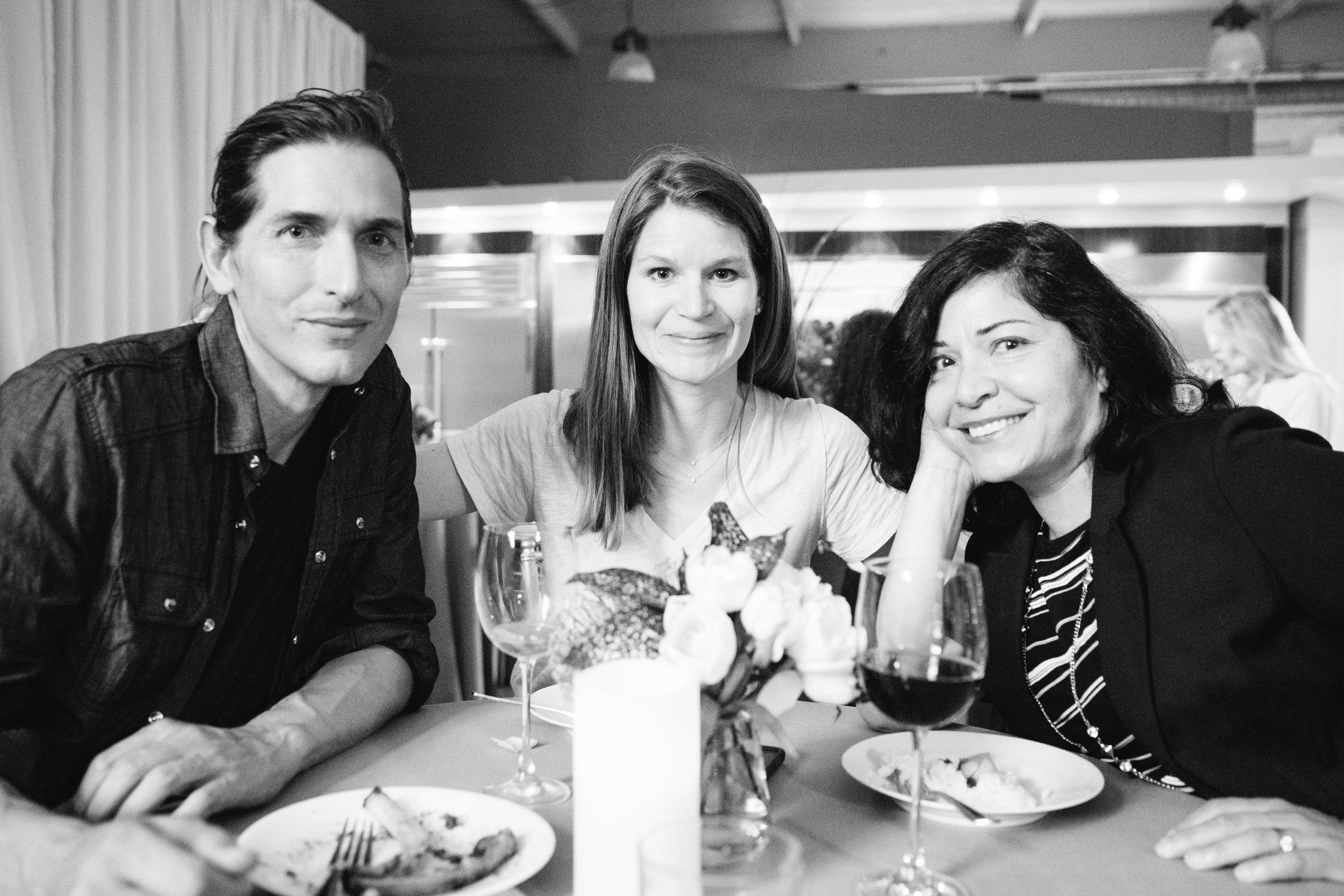Andrew Obermeyer, Stephanie Hauptli, Nancy Lares