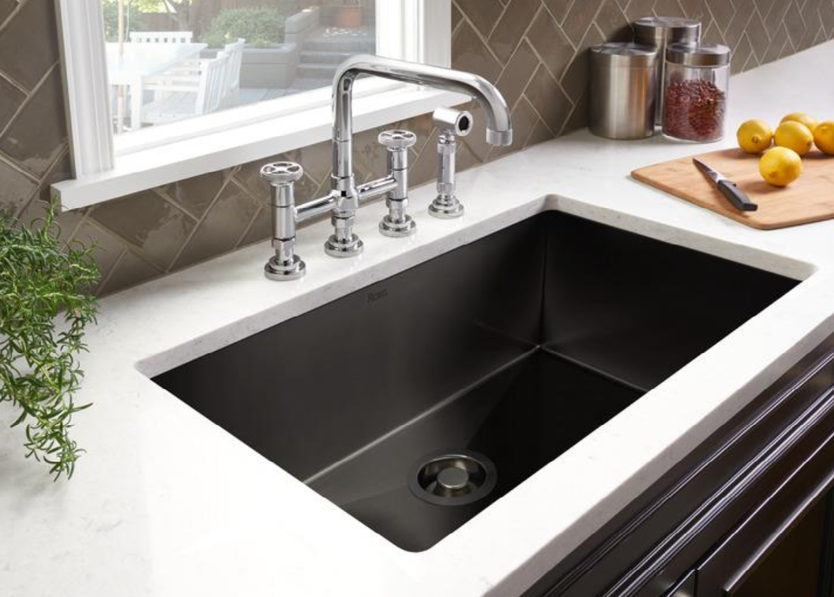 rohl black stainless sink and campo faucet.png