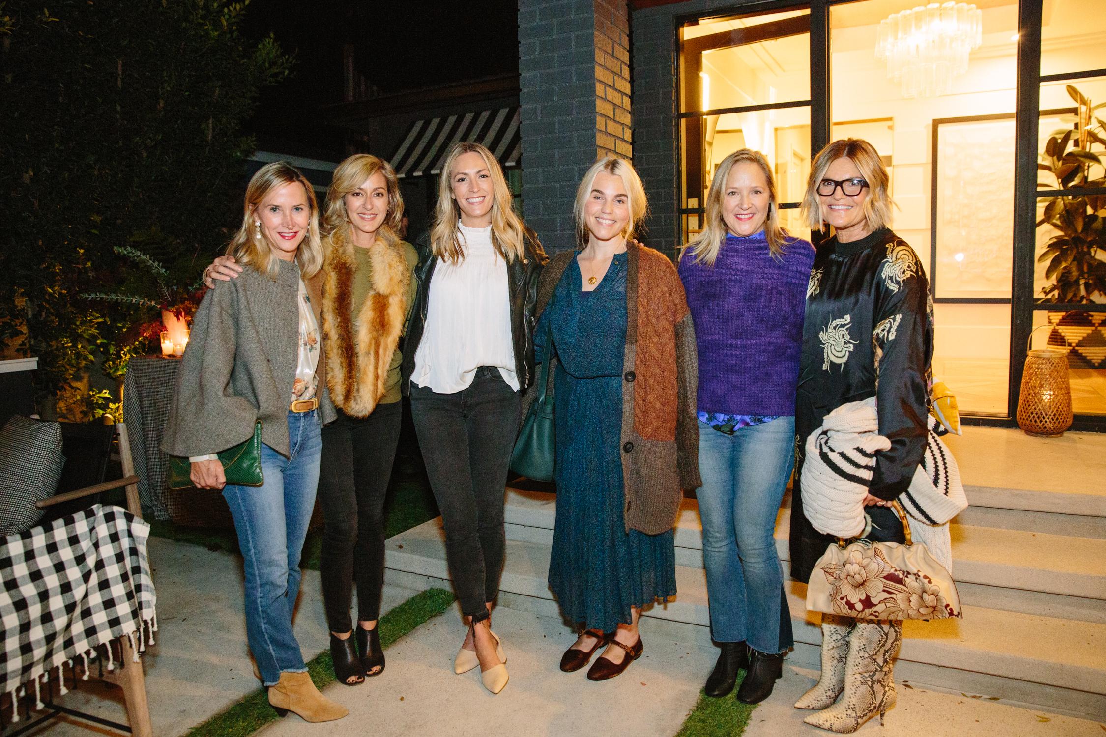 Heidi Bonesteel, Ginna Christensen of  GC Collaborative , Brittany Zwickl, Lauren Soloff, Michelle Trout and Betsy Burnham