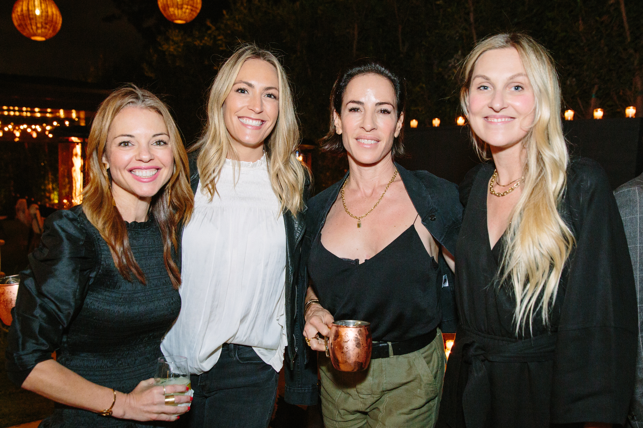 Shannon Wollack, Brittany Zwickl, Vanessa Alexander and Nina Freudenberger