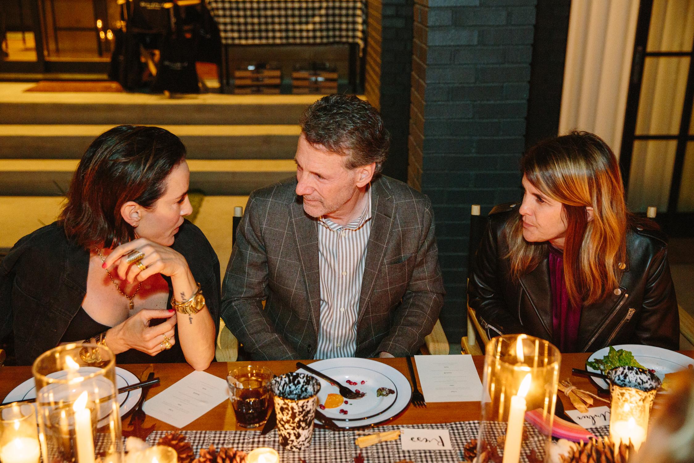 Vanessa Alexander, Russ Diamond and Andrea Stanford