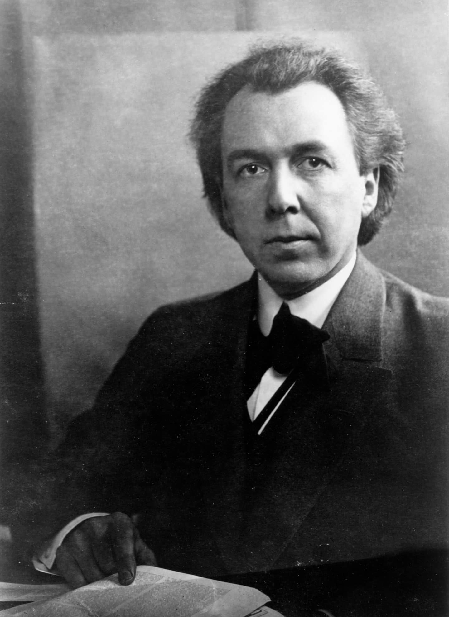 What's believed to be a self portrait of architect Frank Lloyd Wright,  via the Frank Lloyd Wright Foundation