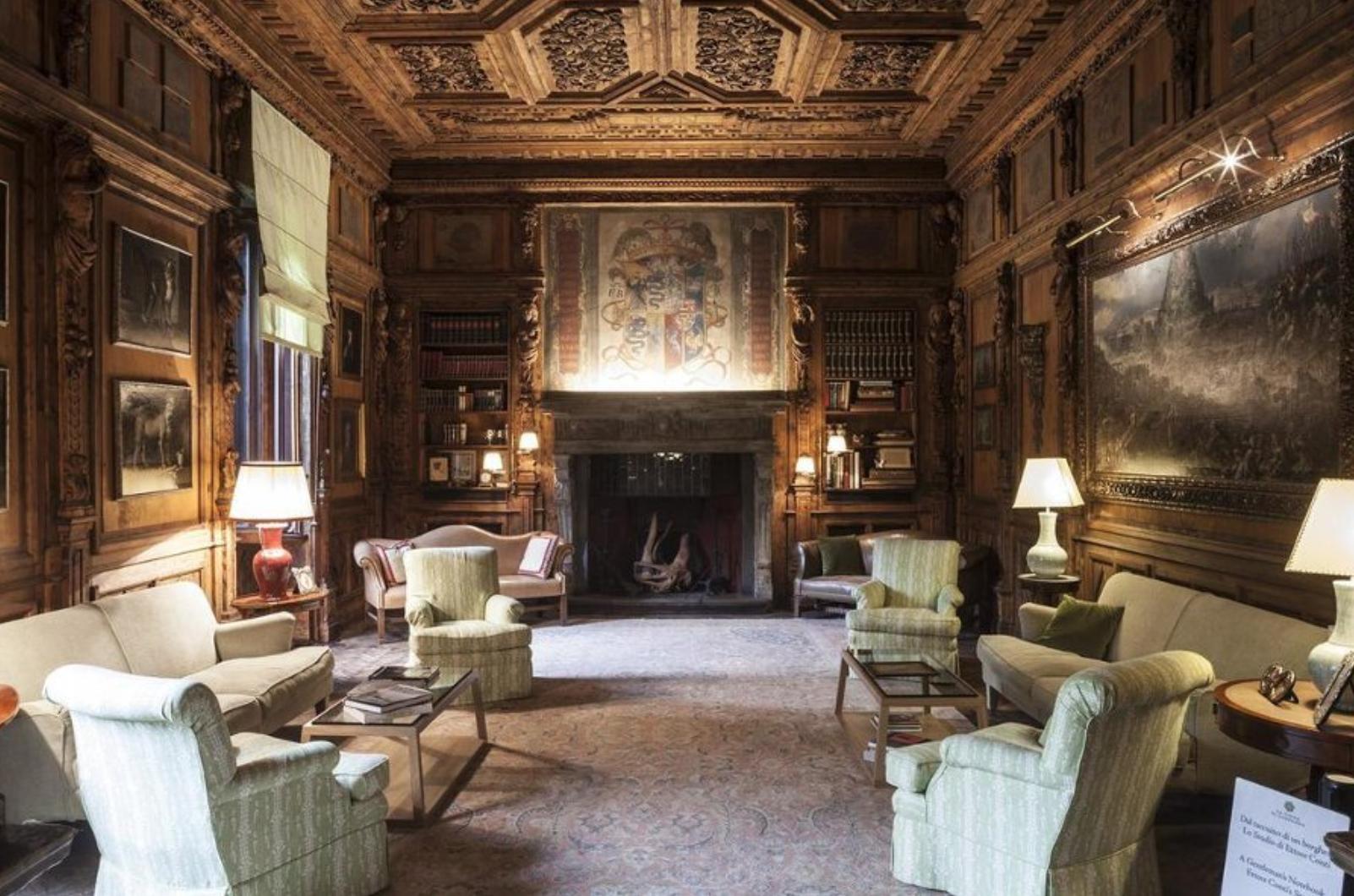 Fifteenth-century villa    Casa degli Atellani    made Goop's list. We can see why!