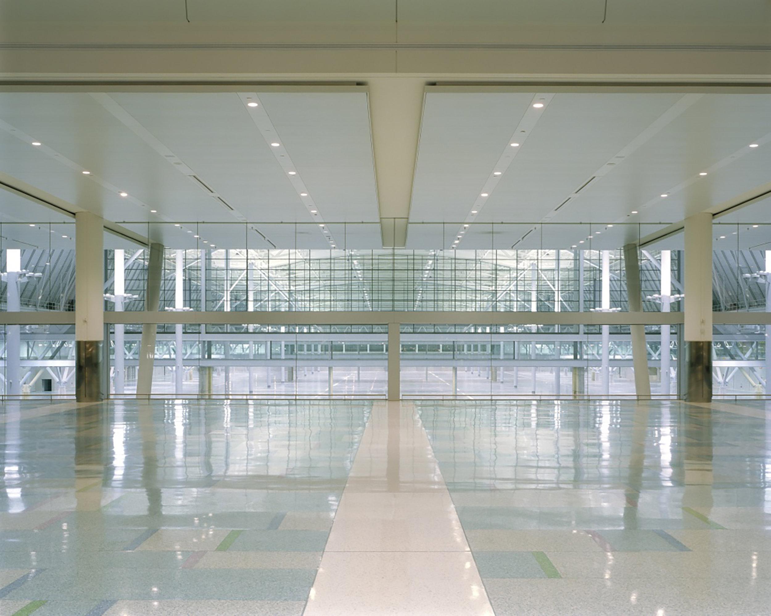 The Boston Convention & Exhibition Center designed with Rafael Viñoly