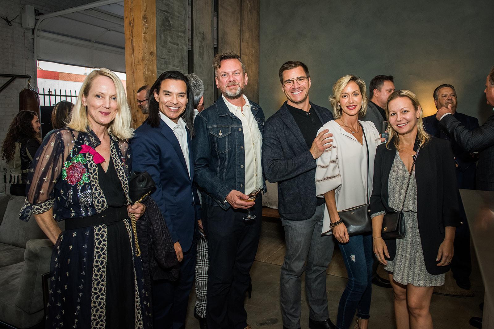 From left to right: Ames Ingram, Tony Estrada, Arthur Redman, Stephen Jones, Ginna Christensen and Wendy Haworth