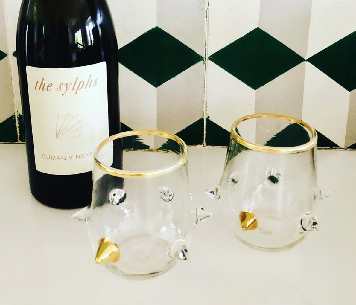 And a special shout out to  @amesingham —we loved your IG post:   Prettiest little edgy glasses I've ever seen!! @neptune_glassworks thank you so much @snyderdiamond and @gc_collaborative and a big congratulations on such a successful 70 years!!! To many more! 🥂