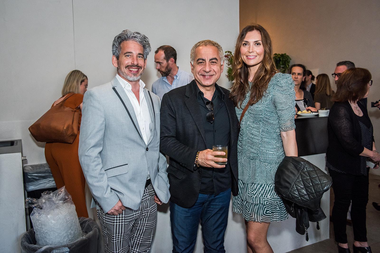 Scott Harris, Marwan Al-Sayed and Joanna Parol