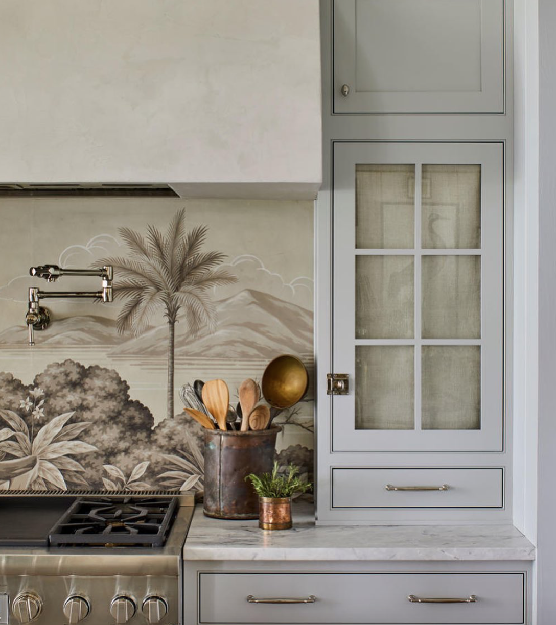A few gorgeous details from @heatherchadduck's kitchen design for the @southernlivingmag 2019 Idea House.