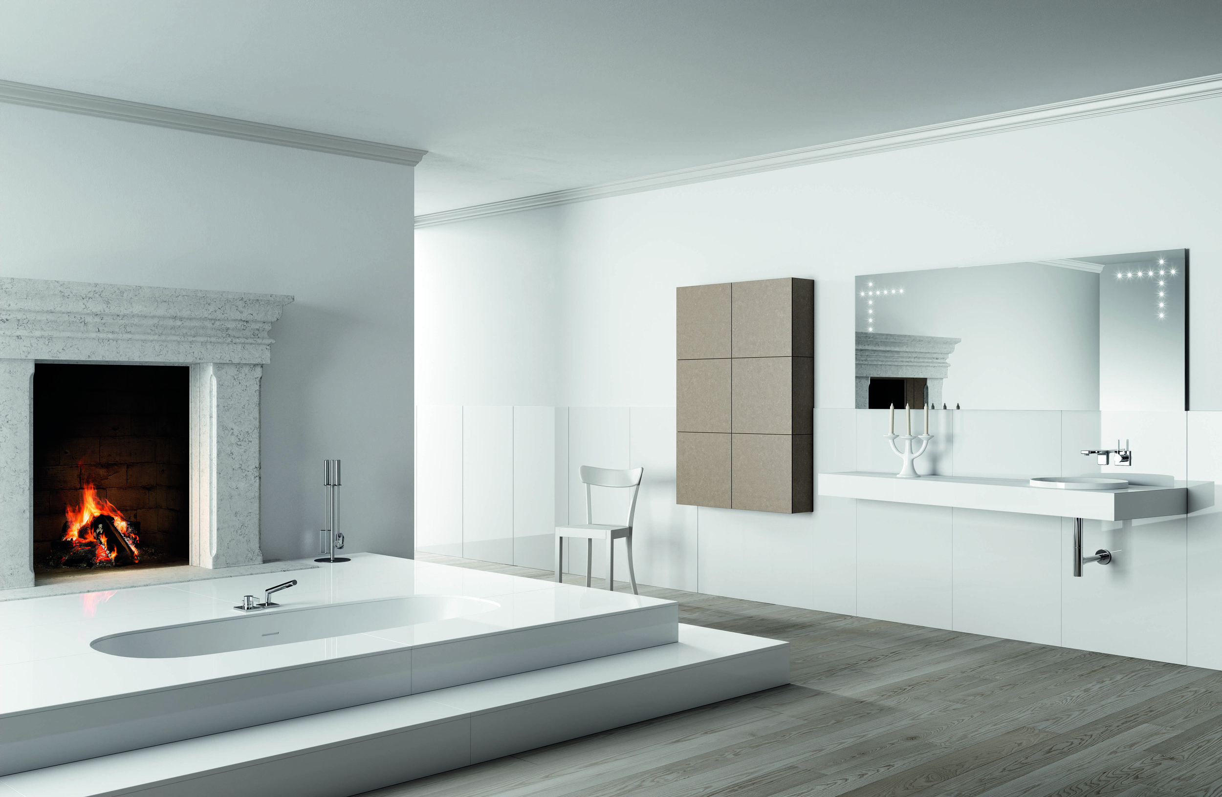 Fire and water pair perfectly when it's Artelinea's Regolo collection.