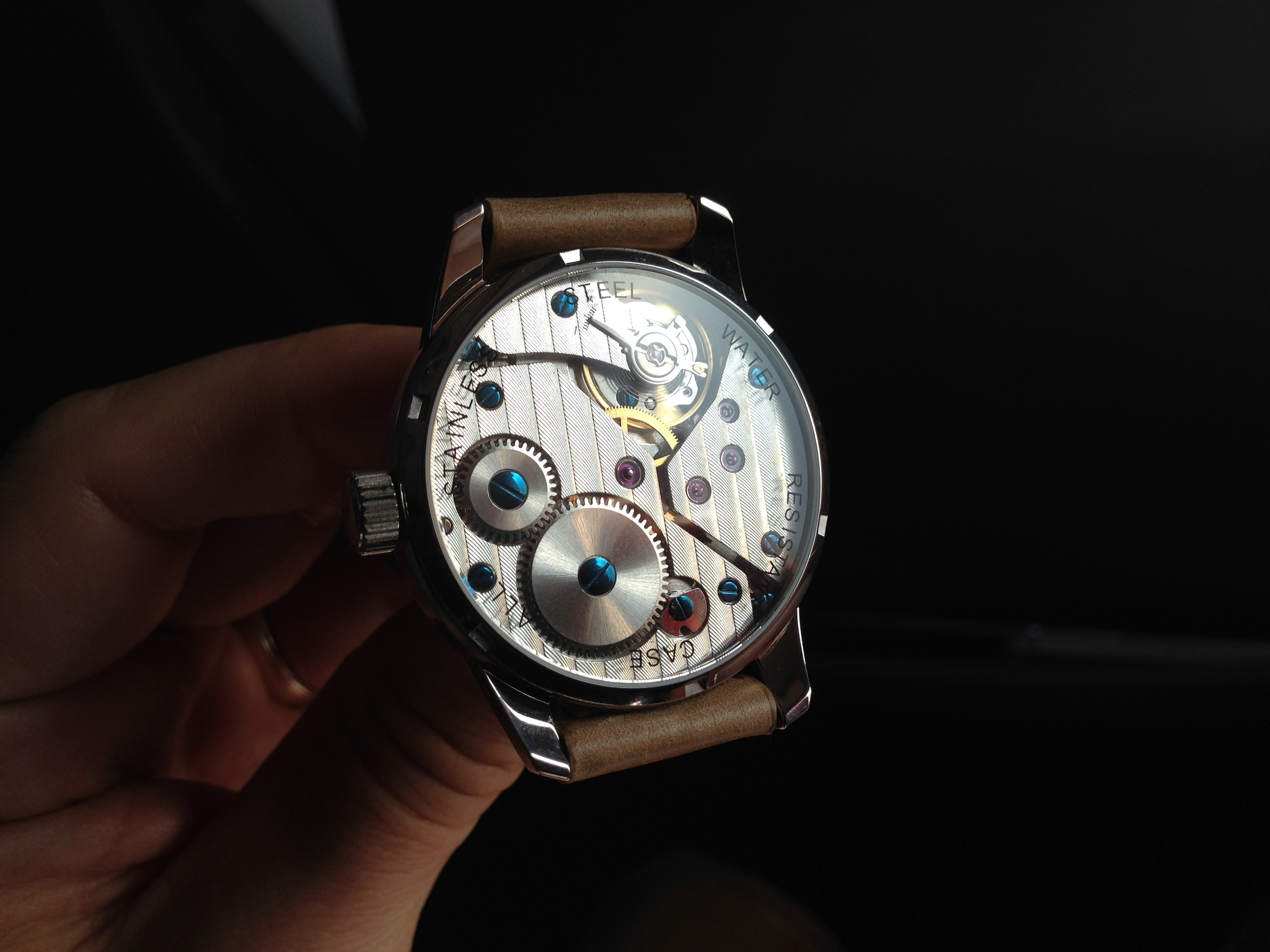 The beating heart of our watches.
