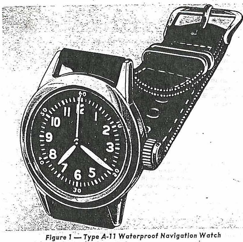 Waltham Type A-11- Inspiration for our Vintage Field Watch