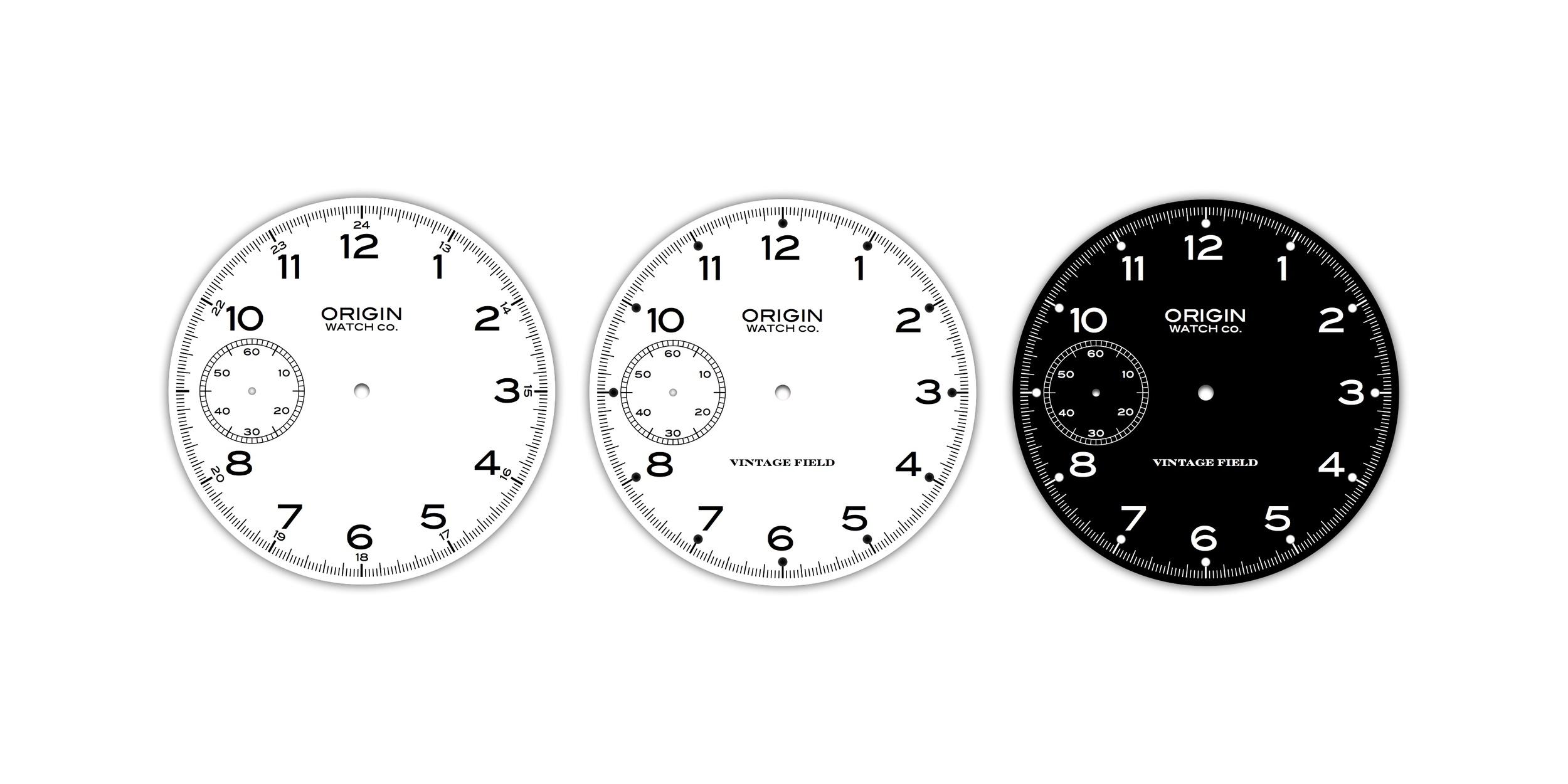 Vintage Field Watch New Dial Designs