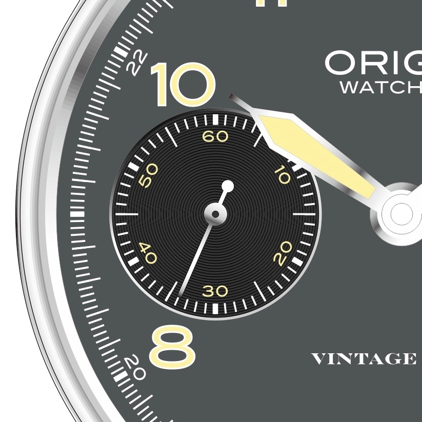 Vintage Field Watch Sub Dial.jpg