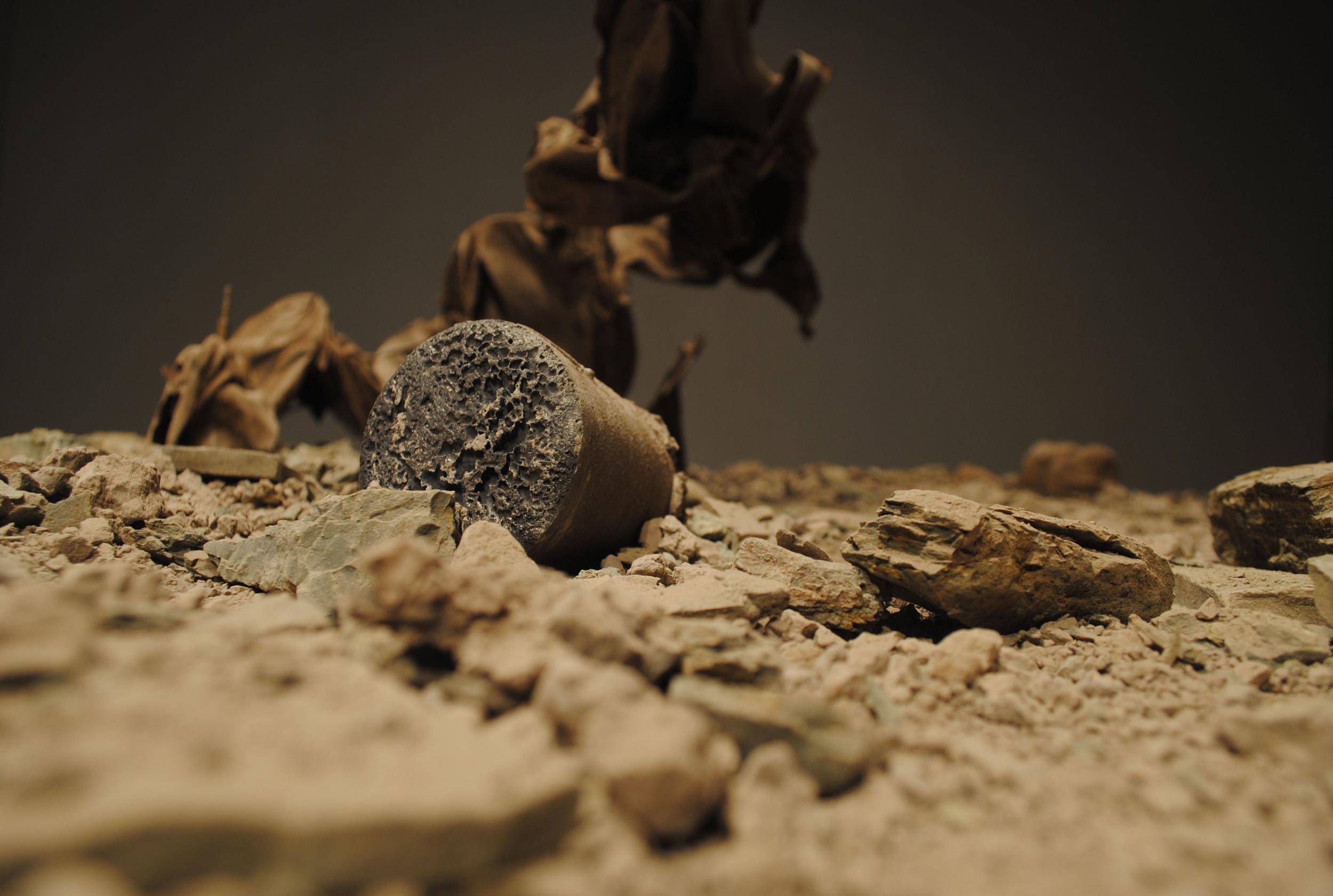 clay, gypsum  , fabric, iron, wood | 2014