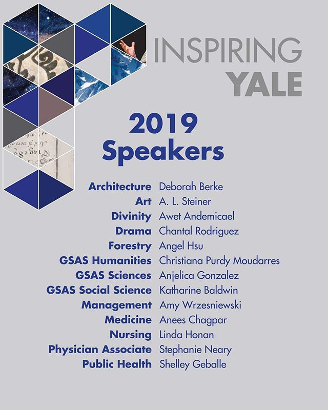 Check out who will be speaking at Inspiring Yale this year! Join us on March 27th 6-9 in Zhang Auditorium to celebrate these awesome Yale Women! RSVP by visiting our website (link in bio) #inspiringyale #senate #gpss #inspiration #yale #women
